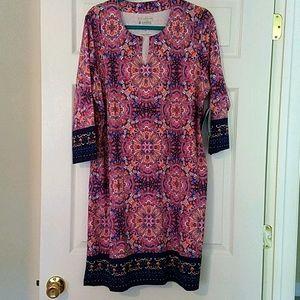 NWT Coolibar Oceanside Tunic Dress